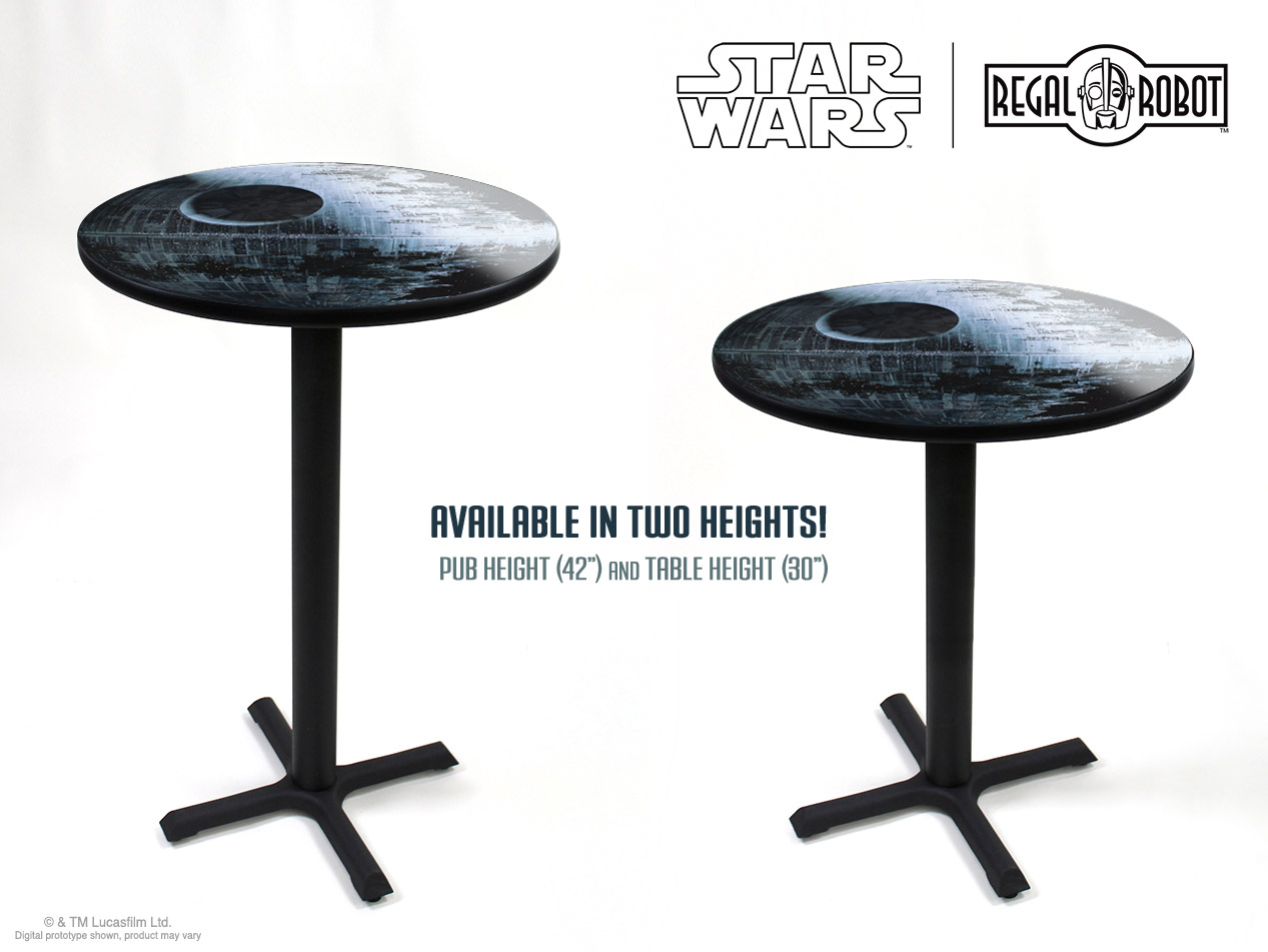 Star Wars Chairs Death Star Ii Cafe Table Regal Robot