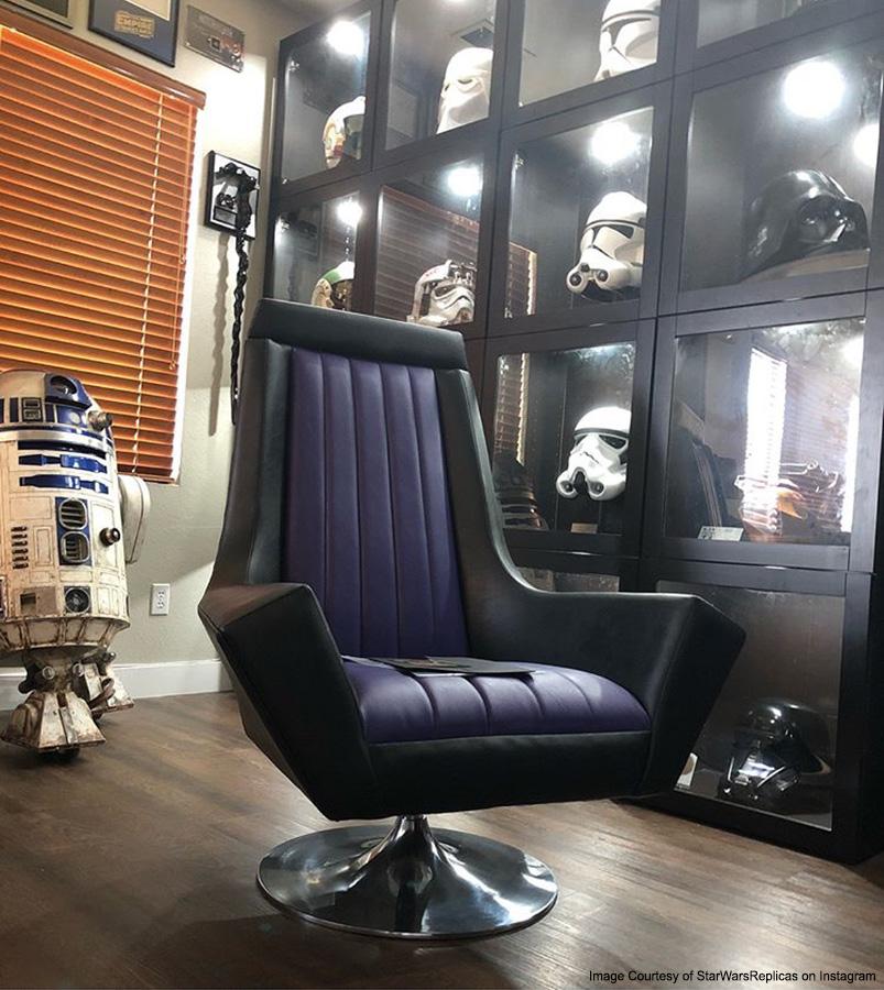 Star Wars Emperor Throne Armchair  Regal Robot