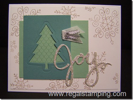 Peaceful Pines, Stampin' Up! Holiday 2015 Catalog, by Krista Thomas, www.regalstamping.com