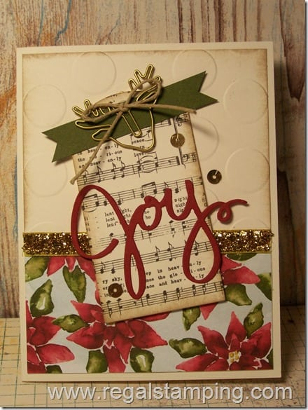 Joy at Christmas by Krista Thomas, www.regalstamping.com