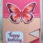 Pleated Ruffle Technique with Watercolor Wings by Stampin' Up!