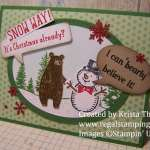 Snow Place with Thankful Forest Friends (Stampin' Up!)