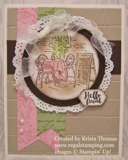 Mediterranean Moments from Stampin' Up!, by Krista Thomas, www.regalstamping.com, Occasions 2017 Catalog