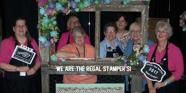 The Regal Stampers at 7 Feathers, Create Your Retreat in Canyonville Oregon