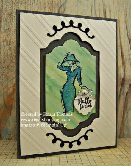 Beautiful You in Watercolors, by Krista Thomas, www.regalstamping.com