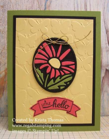 Timeless Tag Flower Inset by Krista Thomas, www.regalstamping.com