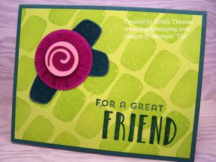 Lovely Inside & Out, Stampin' Up! In Colors