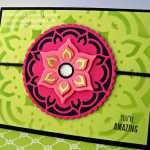 Bright Color Challenge with Eastern Medallions