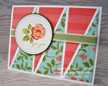 Graceful Garden with Petal Garden Designer Series Paper (DSP)