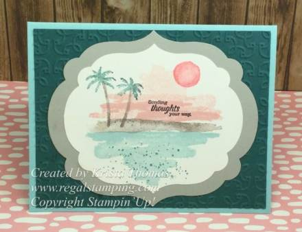 Waterfront stamp set by Stampin' Up