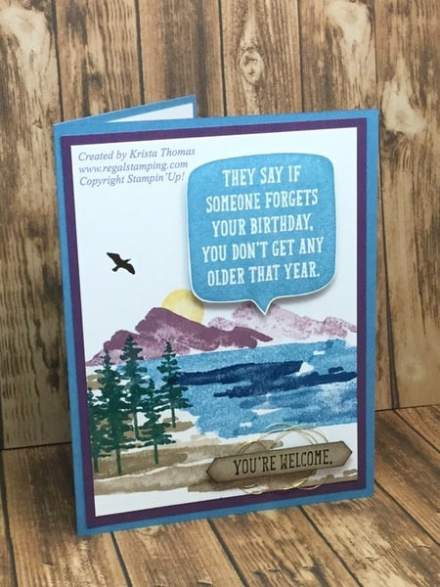 Waterfront, Birthday Wit, 2018 Stampin' Up! Occasions Catalog,