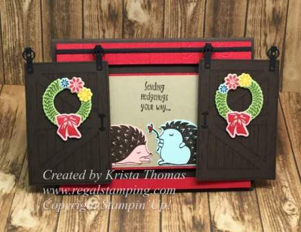 Barn Door Bundle & Hedgehugs, Stampin' Up! 2018 Occasions