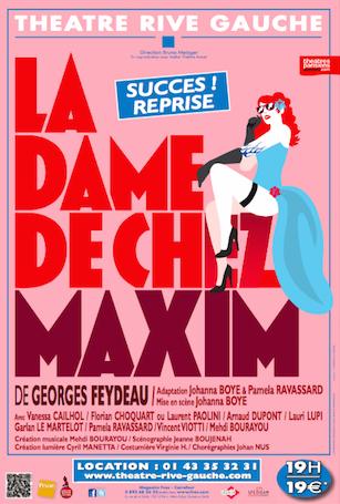 La Dame De Chez Maxim Critique : maxim, critique, Maxim, (Critique), Regard, Coulisse