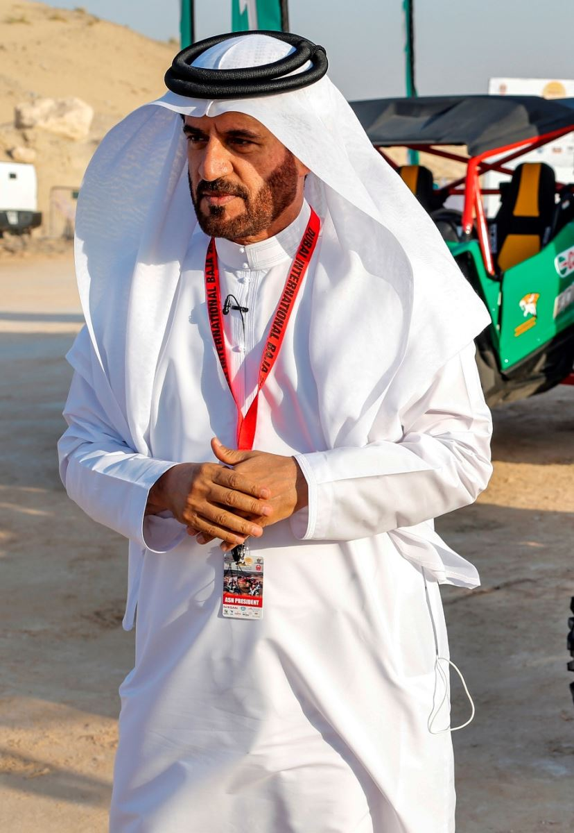 Mohammed Ben Sulayem, President of the Automobile and Touring Club of the UAE and Emirates Motor Sport Federation, and FIA Vice President for sport.