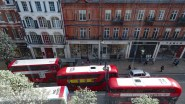 Three in a Row - View from Upper Floor of Selfridge