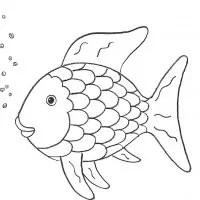 Regenbogenfisch Malvorlagen Coloring and Malvorlagan
