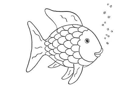 Spiele Amp Basteln Der Regenbogenfisch