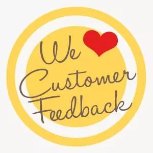 We Love Customer Feedback - Regency DRT
