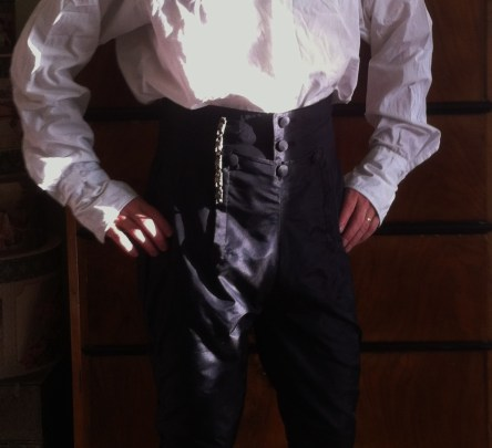 Regency breeches!