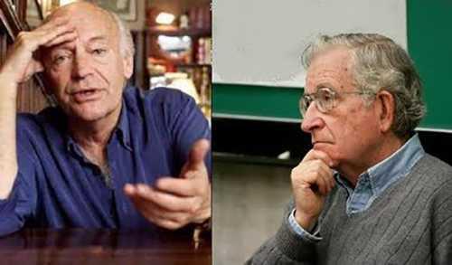 Eduardo Galeano y Noam Chonky firmaron desplegado vs mega proyectos