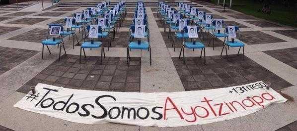 Paro estudiantil Ayotzinapa