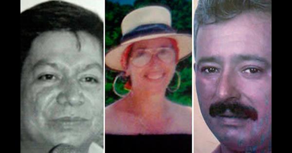Carlos Luna, Blanca Jeannette Kawas y Carlos Escaleras Mejía, activistas ambientales asesinados.