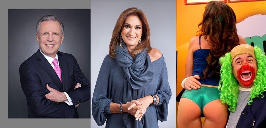 Salen del aire programas de LpezDriga Adela Micha y Brozo  Regeneracin