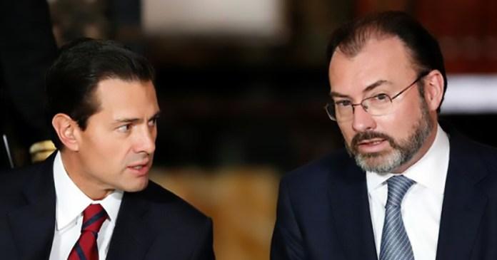 Peña Nieto luis videgaray visita a Washington eu anuncio del muro donald trump
