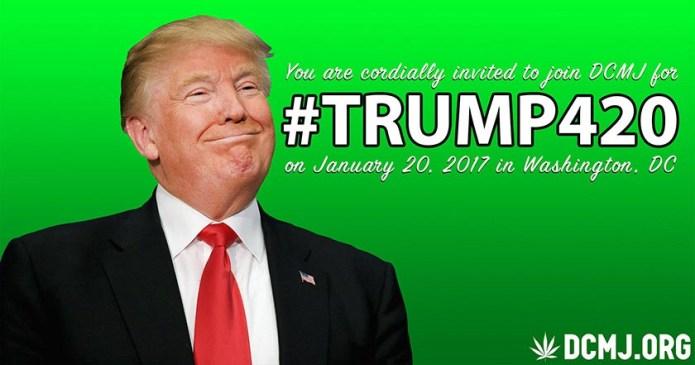 Repartirán 4,200 porros antes de discurso de Trump