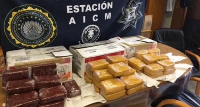 ate drogas - Incineran 350 kilogramos de narcóticos en Guerrero