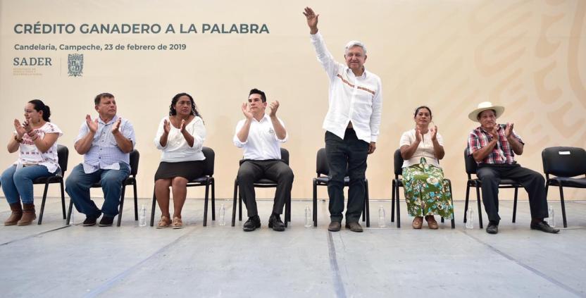 AMLO Campeche - Tecnócratas corruptos abandonaron el campo, asegura López Obrador