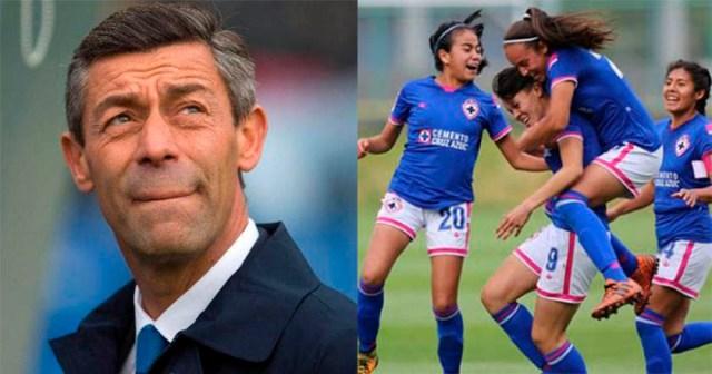 Técnico de Cruz Azul dice que él no juega con faldas  - Técnico de Cruz Azul dice que él no juega con faldas