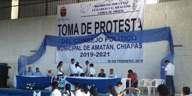 amatan2 - Tres mujeres son nombradas Concejo de Gobierno en Amatán, Chiapas