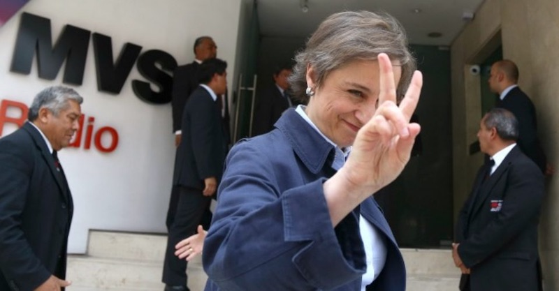 carmen Aristegui MVS - MVS habría recibido millones de EPN tras el despido de Carmen Aristegui