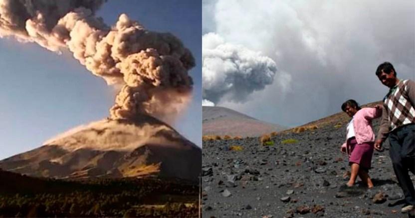 100 mil personas podrían ser evacuadas por volcán Popocatépetl - 100 mil personas podrían ser evacuadas por volcán Popocatépetl