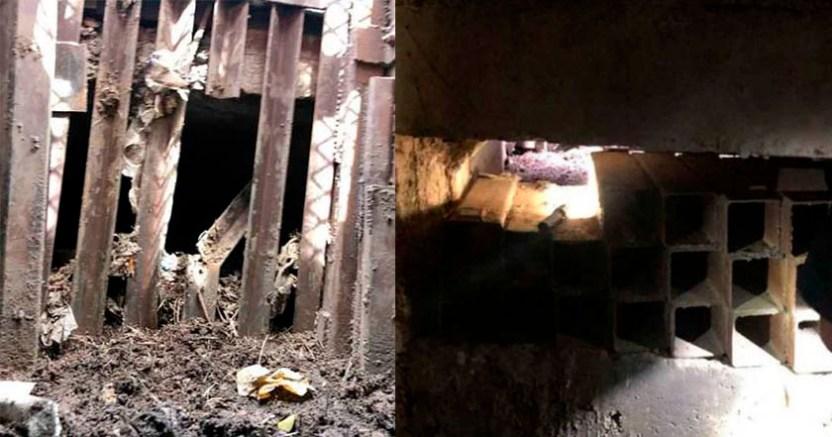 Detectan túnel en alcantarilla que conectaba Sonora con EU - Detectan túnel en alcantarilla que conectaba Sonora con EU