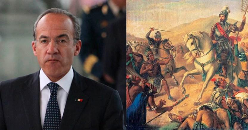 Felipe Calderón dice estar orgulloso de sus raíces indígenas y españolas - Felipe Calderón dice estar orgulloso de sus raíces indígenas y españolas