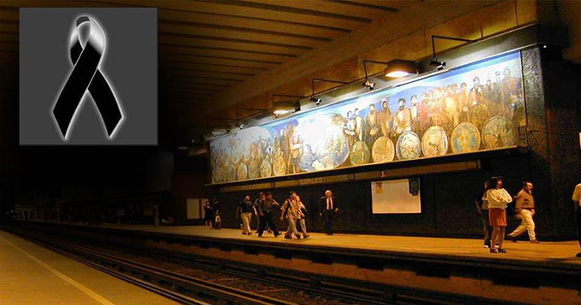 Muere persona que se suicidó o cayó a vías del Metro Copilco - Registran incidente en Metro Copilco, persona se suicidó o cayó a vías
