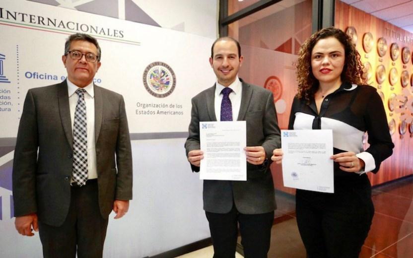 """PAN OEA - Panistas alertan a la OEA sobre """"estabilidad democrática"""" en México"""