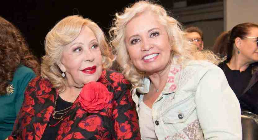 silvia pinal serie carla estrada - Carla Estrada confirmó que Silvia Pinal se encuentra hospitalizada