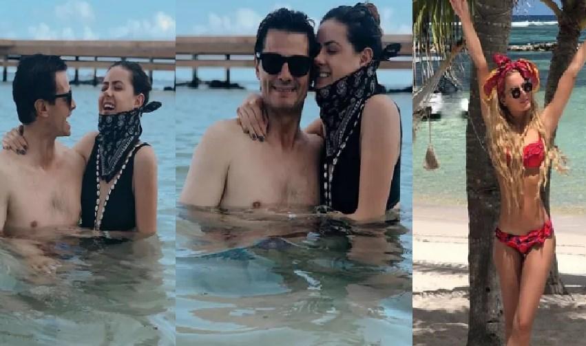 Screenshot 10 1 - EPN y su hija gozan las vacaciones ; rumoran que Tania Ruiz también fue
