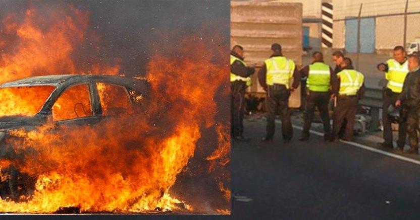 choque - Accidente carretero en Sonora deja cinco personas calcinadas