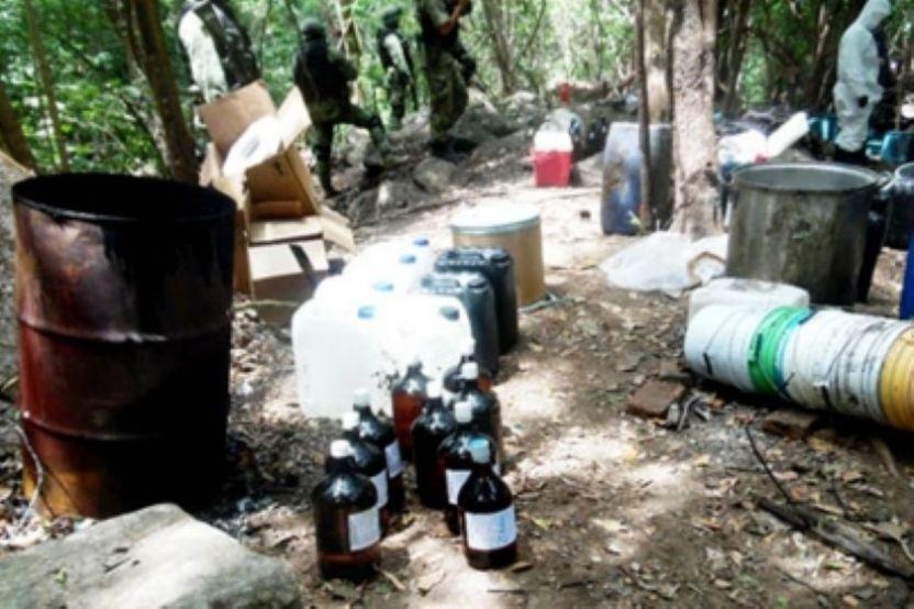 Laboratorio Jalisco - Localizan laboratorio de drogas sintéticas en Jalisco
