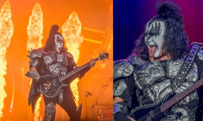 Kiss con lengua de fuera rompe el festival Domination