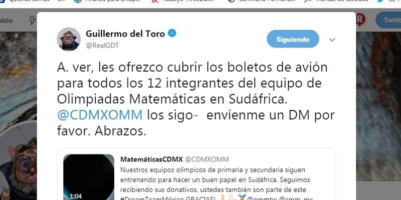 delToro - Del Toro pagará avión de mexicanos en olimpiadas de matemáticas