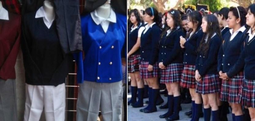 uniforme Neutro cdmx - niñas podrán usar pantalón en uniforme