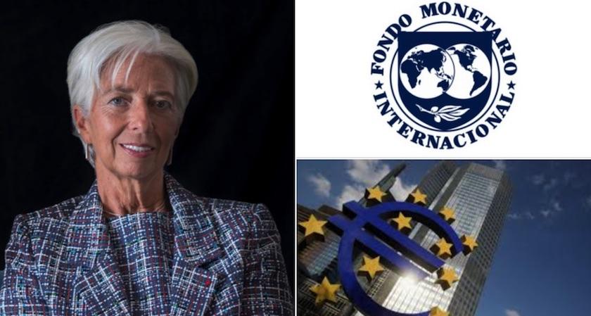 lagarde - Christine Lagarde renuncia temporalmente al FMI; ahora va por el BCE