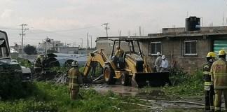 Controlada y sin daños mayores la fuga de gas en Tezoyuca