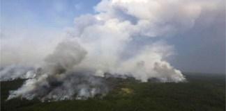 Humo de incendios en Siberia cubre una superficie mayor a la de la Unión Europea