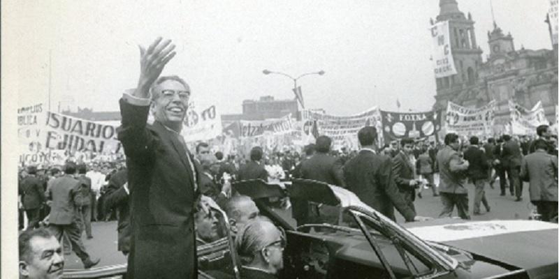 Gustavo Díaz Ordaz, México 1968.